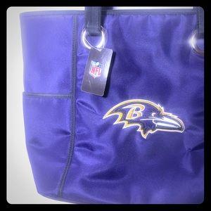 Baltimore Ravens Handbag New Football Purse NWT